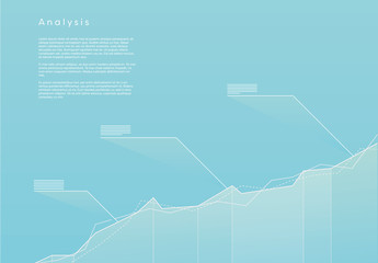Blue Graph Analysis Infographic 1