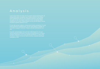 Blue Graph Analysis Infographic 2