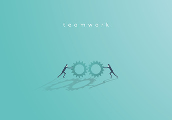 Business Teamwork Illustration 1
