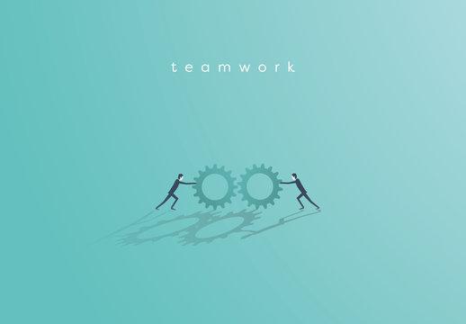 Business Teamwork Illustration 1