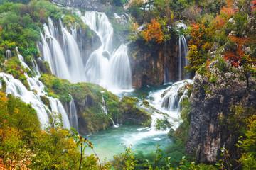 Printed roller blinds Waterfalls Waterfalls, Plitvice National Park, Croatia