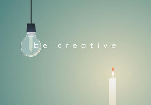 Be Creative Illustration