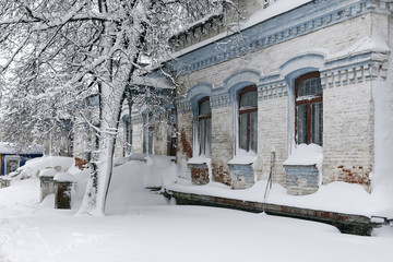 Architecture in winter