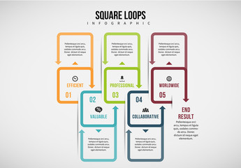 10 Grouped Squares Infographic 1