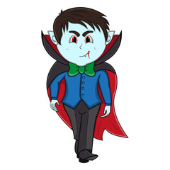 Funny Vampire Cartoon
