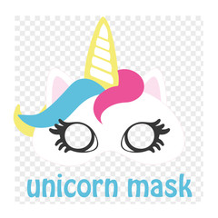 Make yourself unicorn. Add mask on top of your photo.