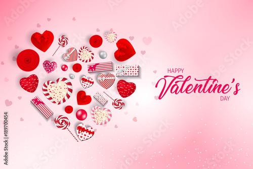 Valentines heart. Happy Valentine\'s Day. Love valentine\'s ...