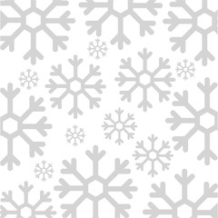 snowflake weather pattern background