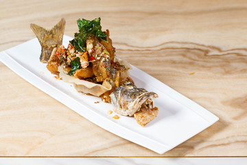 Fried Fish with