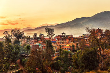 Panauti, Early Morning, Nepal