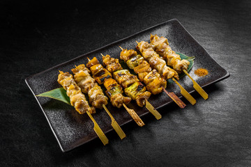 炭火焼き鳥 Yakitori Japanese food