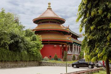Индонезия. Джакарта. Парк «Таман-Мини» — «Прекрасная Индонезия в миниатюре».