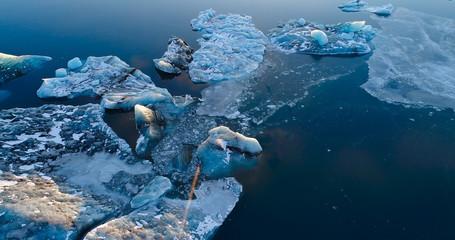 banquise et iceberg