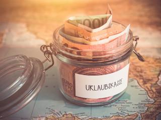 Urlaubsgeld - Urlaubskasse - Sparen für Urlaub
