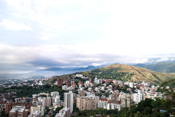 View over Cali, Colombia