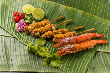 典型的な東南アジア料理 typical Southeast Asian cuisine