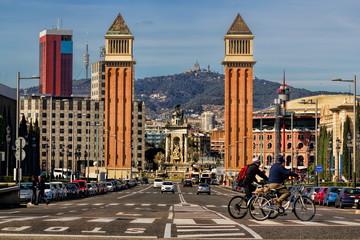 Barcelona, Placa d Espanya