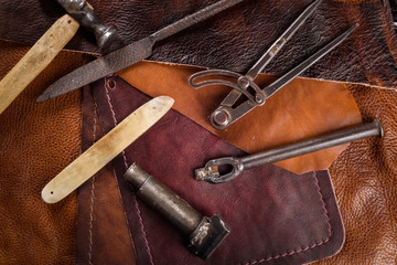 leather goods manufacturer's tool