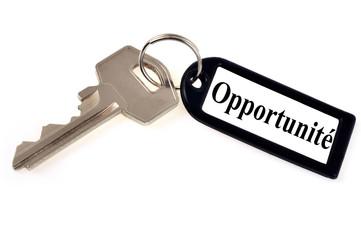La clé de l'opportunité