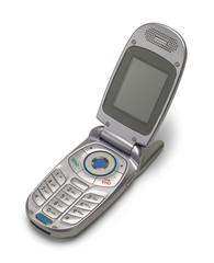 Open Flip Phone