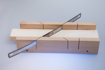Woodworking Tools,Miter Box Block Cutter 45-90-60 Degree