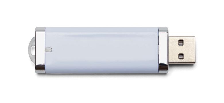 White USB Drive