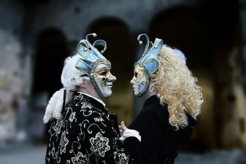 Karneval Masken Florenz