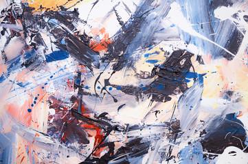 Öl gemalter Abstrakter Hintergrund