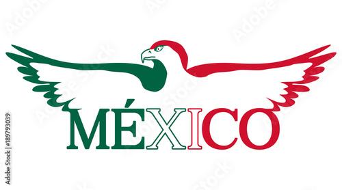 """""""mexico Aguila Bandera"""" Imágenes De Archivo Y Vectores"""