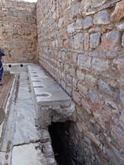 ruinas en la ciudad de efeso, turquia.