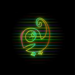 Colorful light chameleon