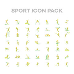 Sport Icon Vector Set