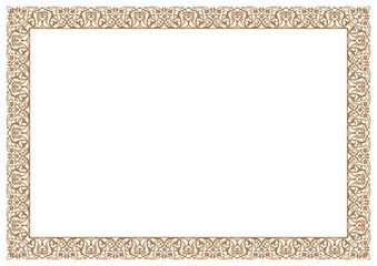Frame & Border Floral Ornament