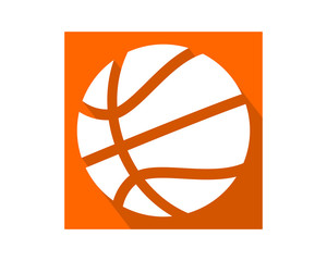 basketball pop sport equipment image vector icon logo