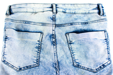 jeans with pockets behind