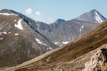 The Urals landscape. The Ural Mountains. Russia landscape.
