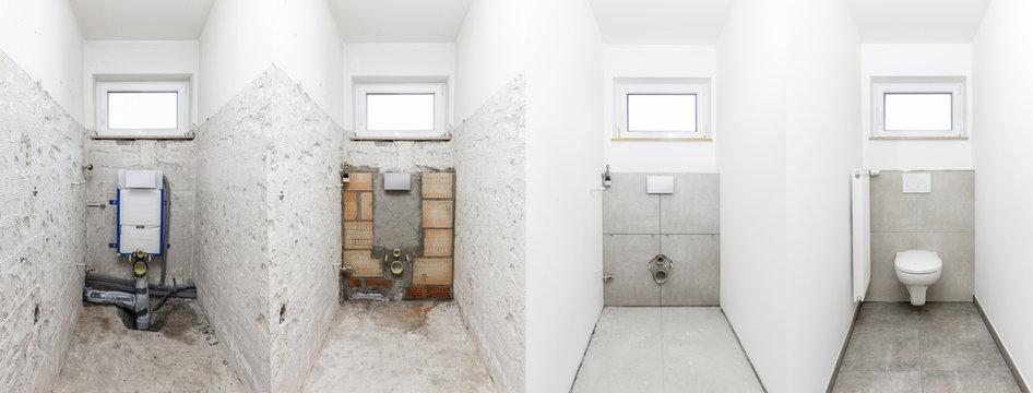 Toilettensanierung