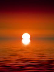 In de dag Rood traf. Golden Sunset