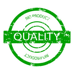 Quality bio product rubber stamp