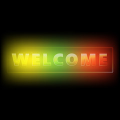 Welcome web banner