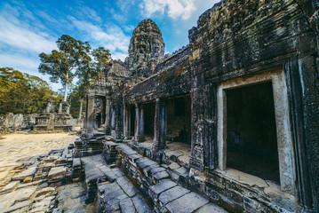 Bayon temple view, Angkor, Cambodia