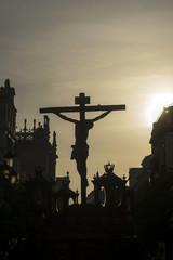 Fototapete - hermandad de los negritos, semana santa de Sevilla