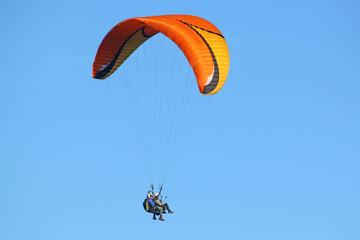 Tandem Paragliderflying
