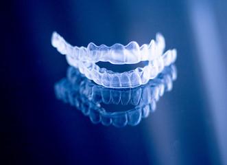 Invisible dental orthodontics