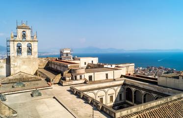 View of the Certosa di San Martino in Naples
