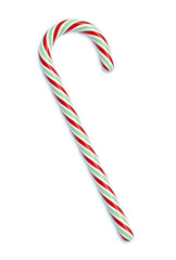 Candy Cane 3D illustration