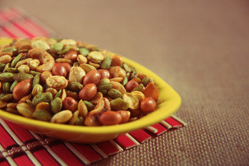 Baked lima beans Spicy Snacks