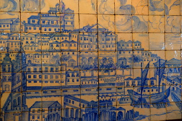 Azulejos of Lissabon