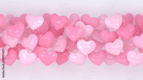 Hearts Background Valentines Day 3d Heart Love Wallpaper Propsal