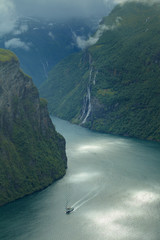 Wall Mural - Geiranger fjord, Norway